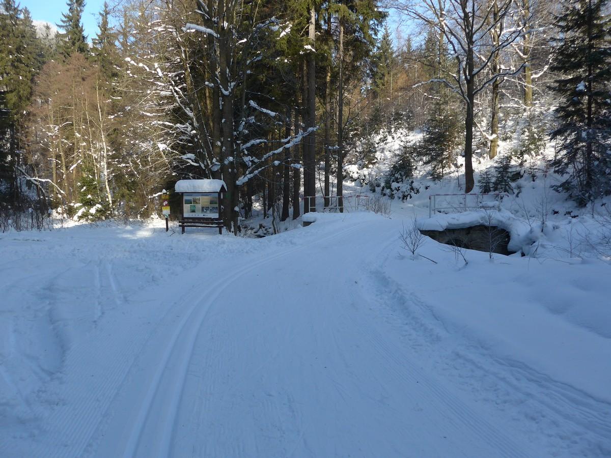 Im Mordgrund unmittelbar an der deutsch-tschechischen Grenze