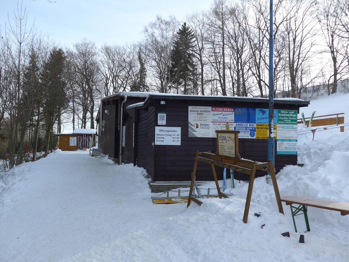 Vereinsheim am Skihang Gelenau