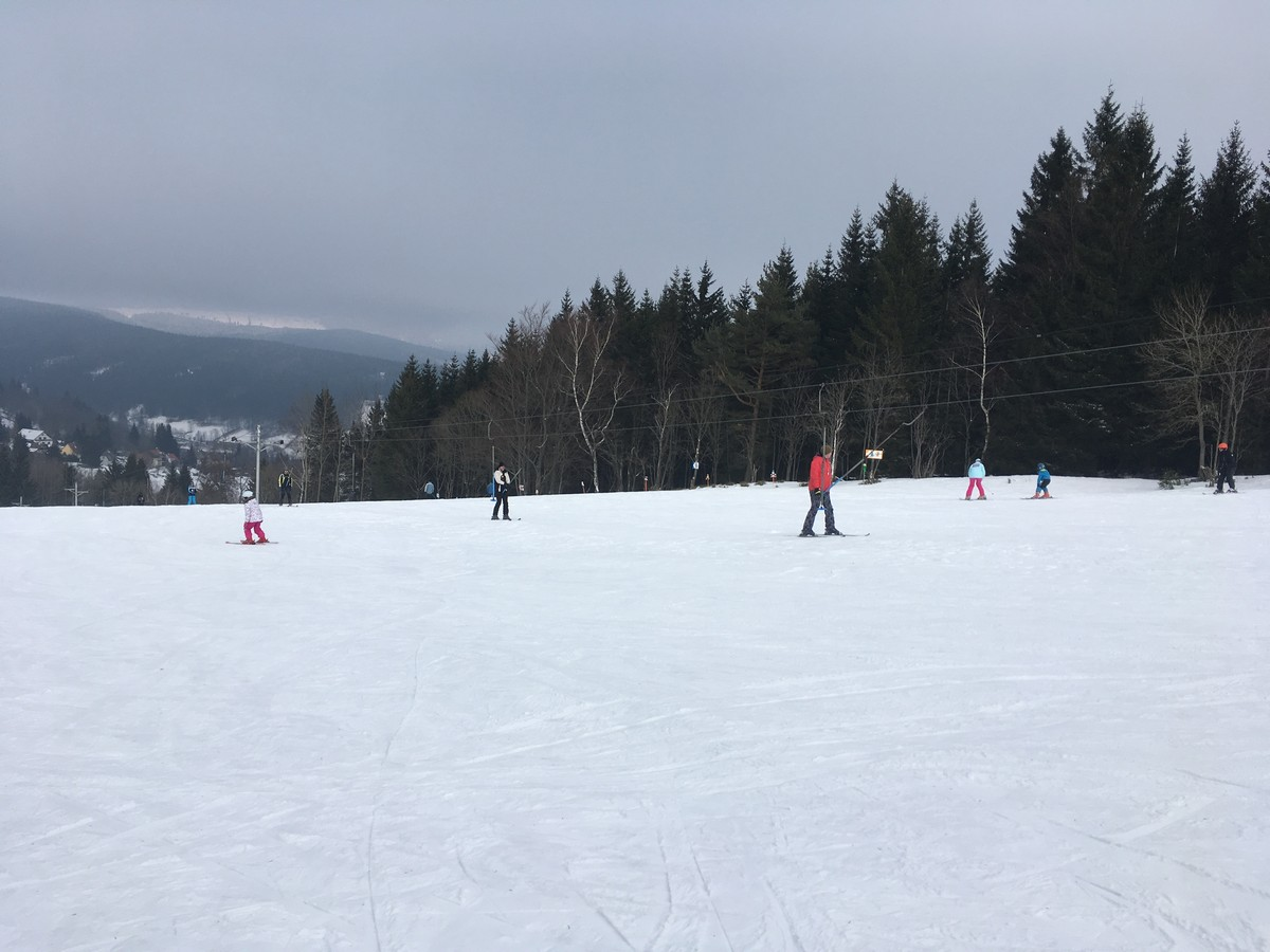 Skigebiet Jachymov Naprava