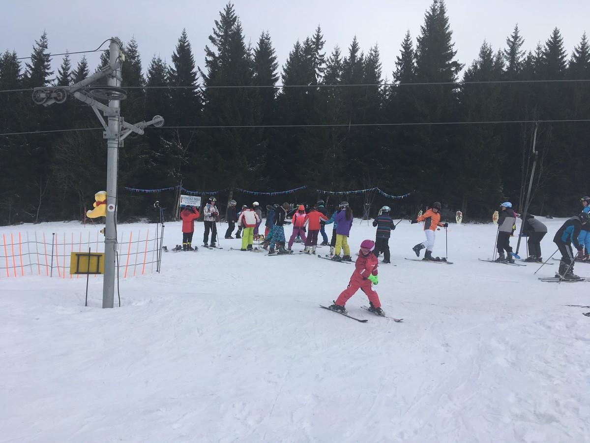 Kinderpark im Skigebiet