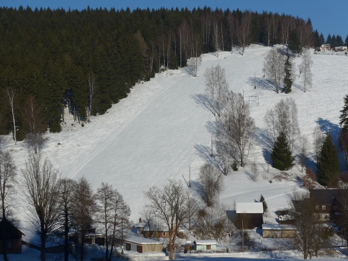 Skilift und Skipiste Klingenthal Jägerstraße