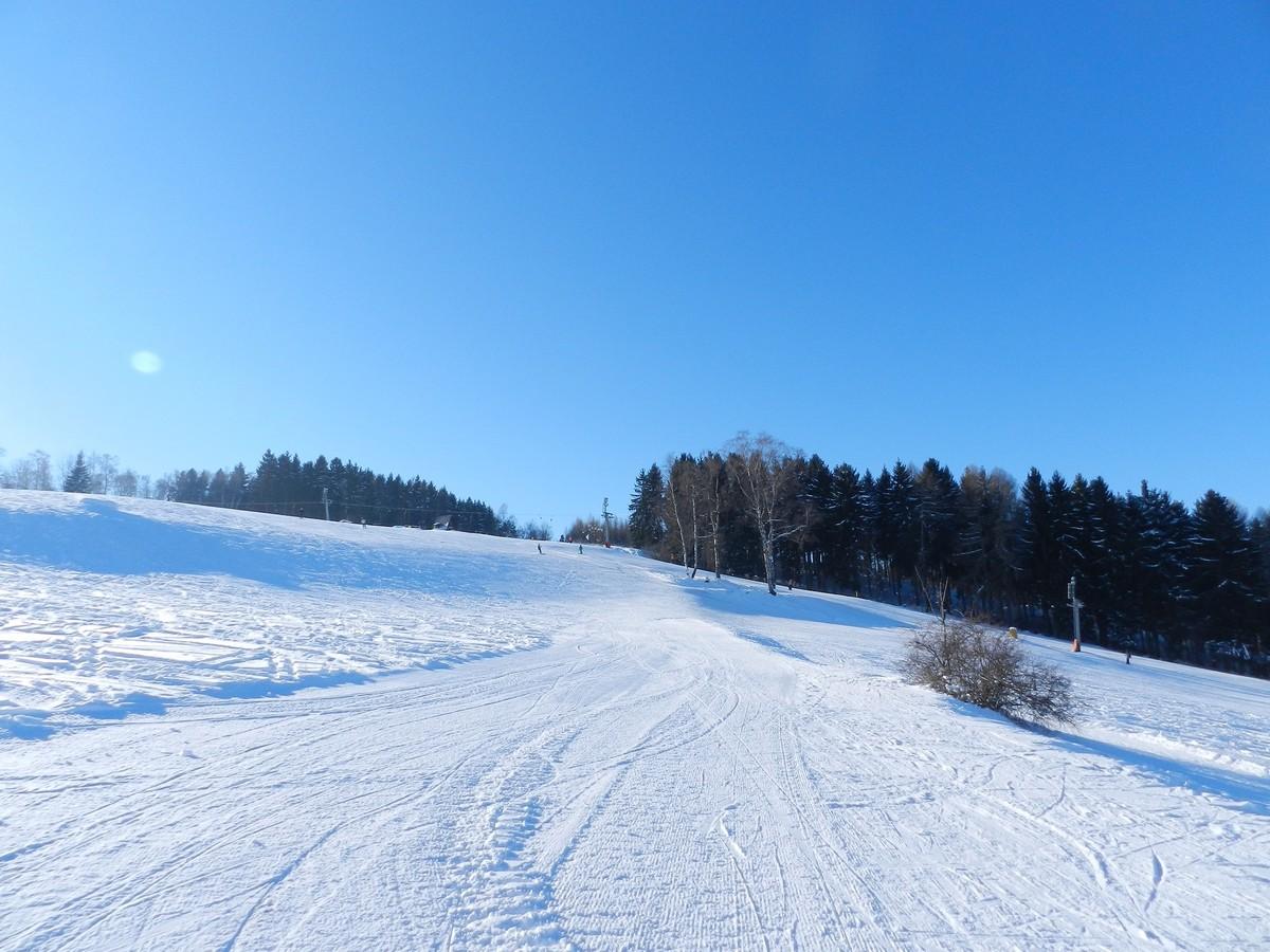 Lößnitz - breite Skipisten
