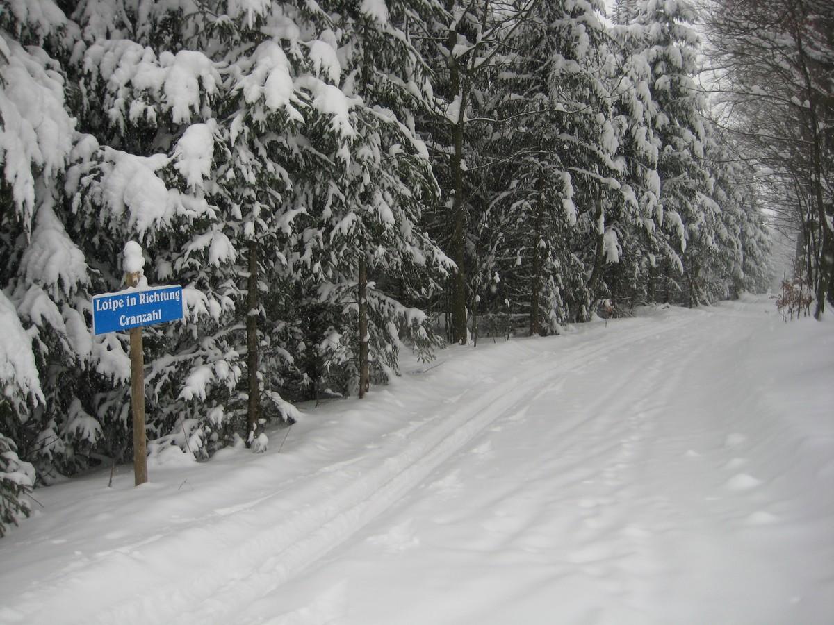 Skiwanderweg Cranzahl-Bärenstein