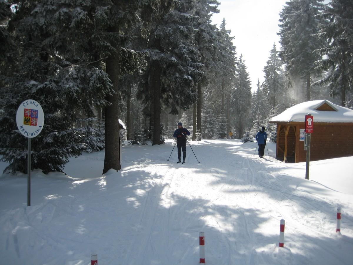 Grenzübergang Deutsches Gehau / Hubertky
