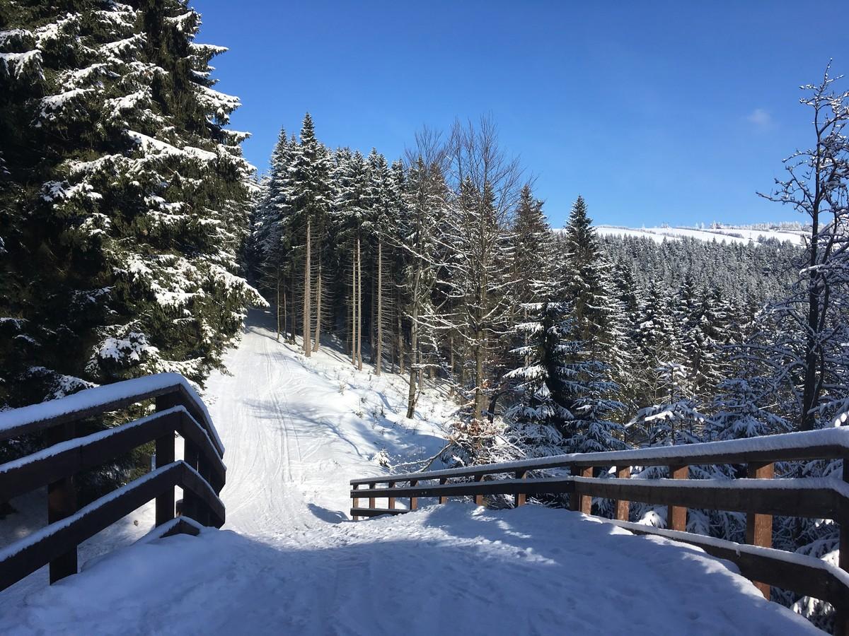 Loipenbrücke - Sportloipe BoziDar Jahodovka