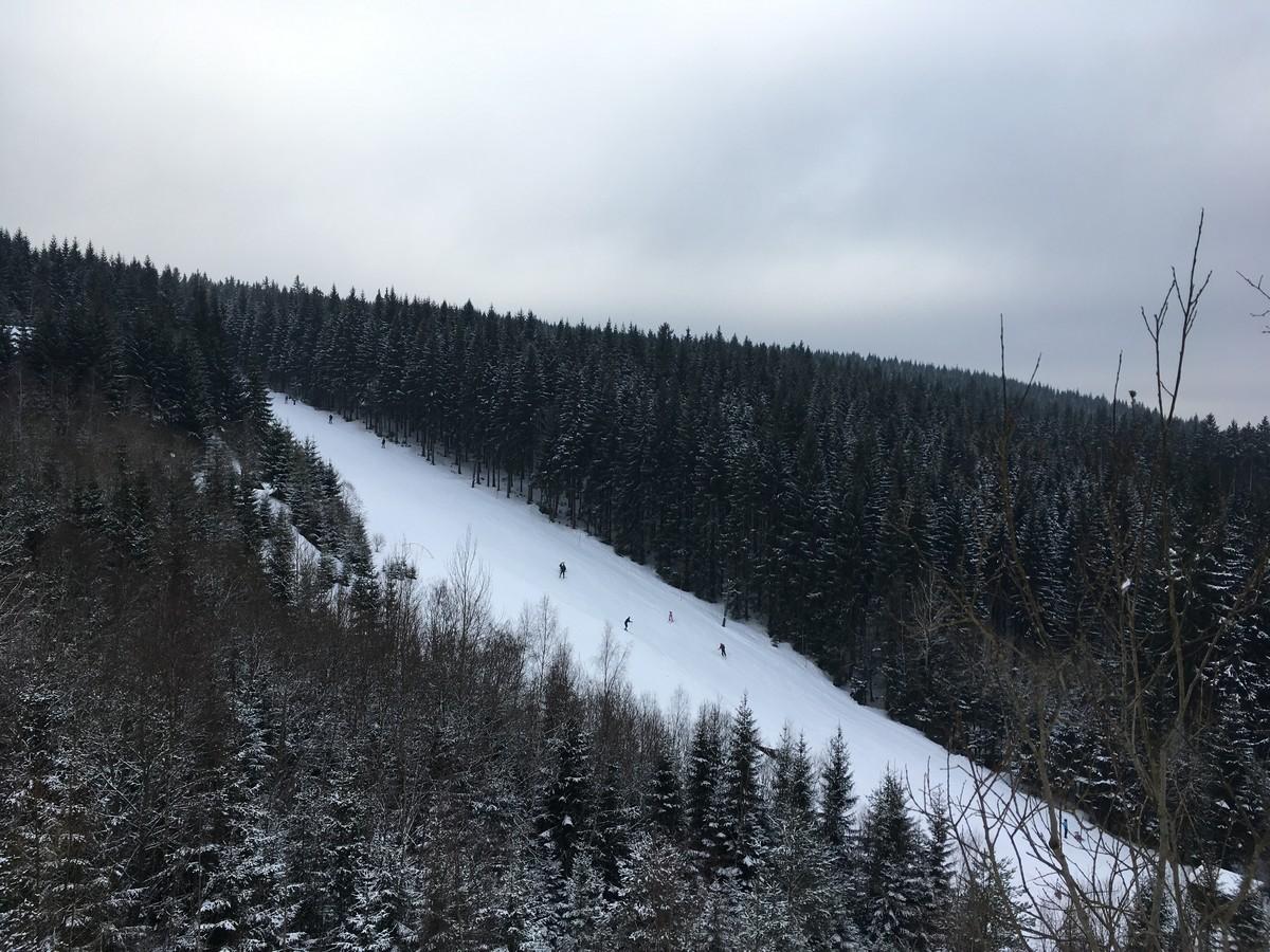 Skihang im Areal Eduard
