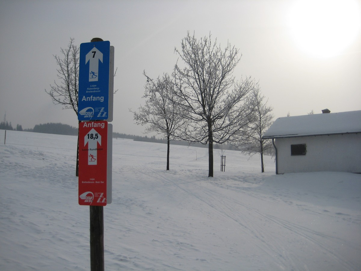 Panoramaloipe A bei Breitenbrunn