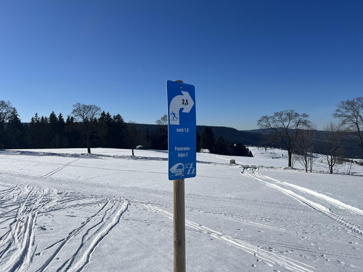Panoramaloipe B bei Breitenbrunn