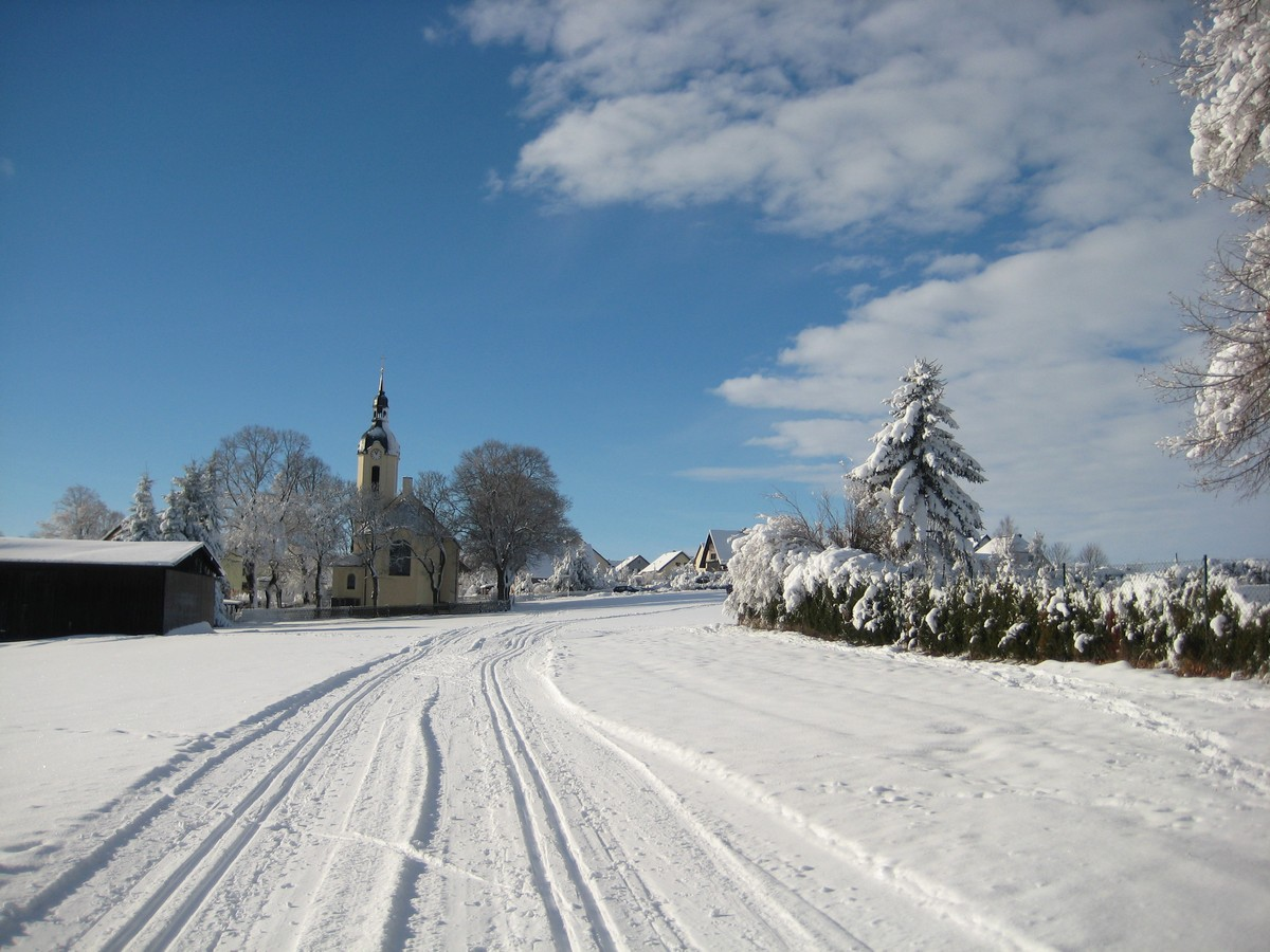 Loipe bei Berbisdorf