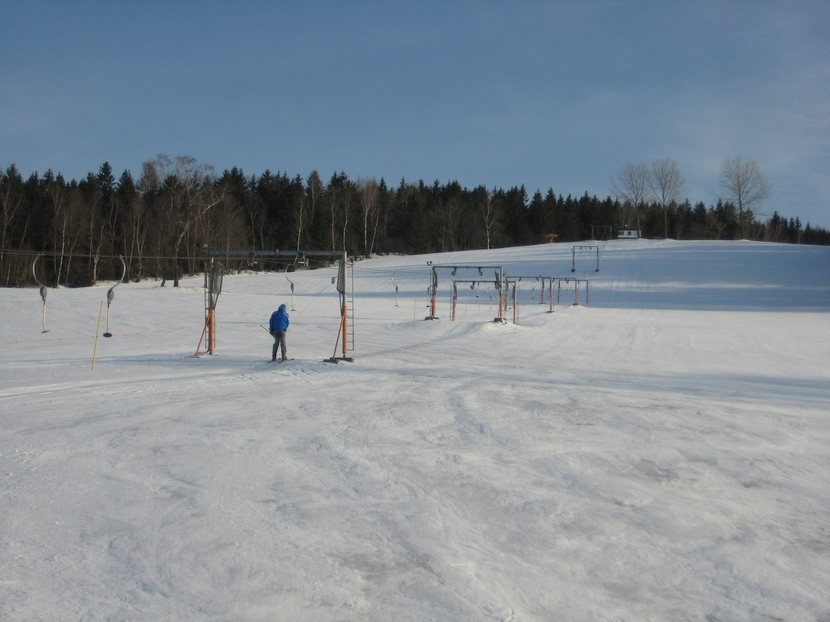 Am Skilift Markersbach