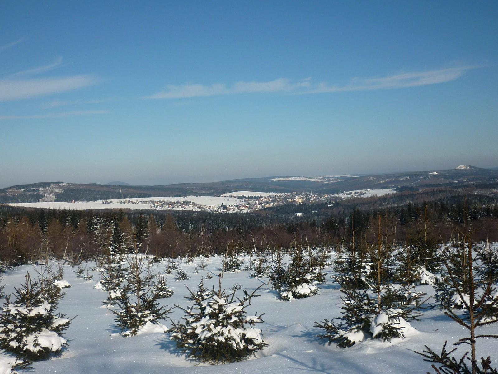 Oberhalb von Kovarska