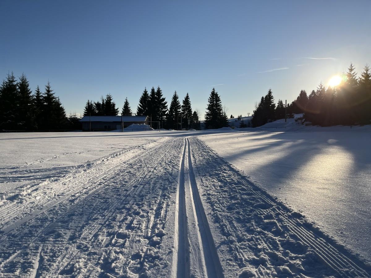 Winterlandschaft bei Horni Blatna