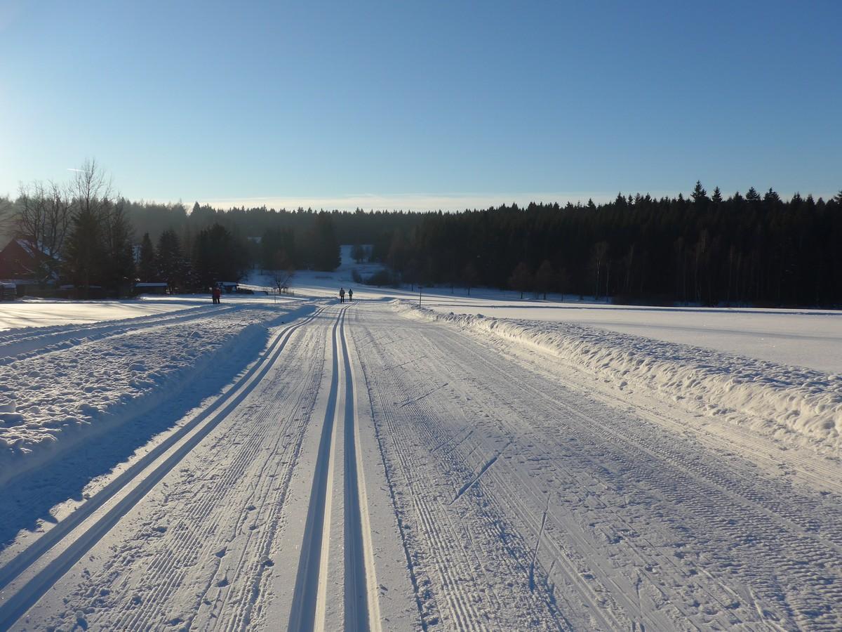 14-Kilometer-Loipe bei Kottenheide