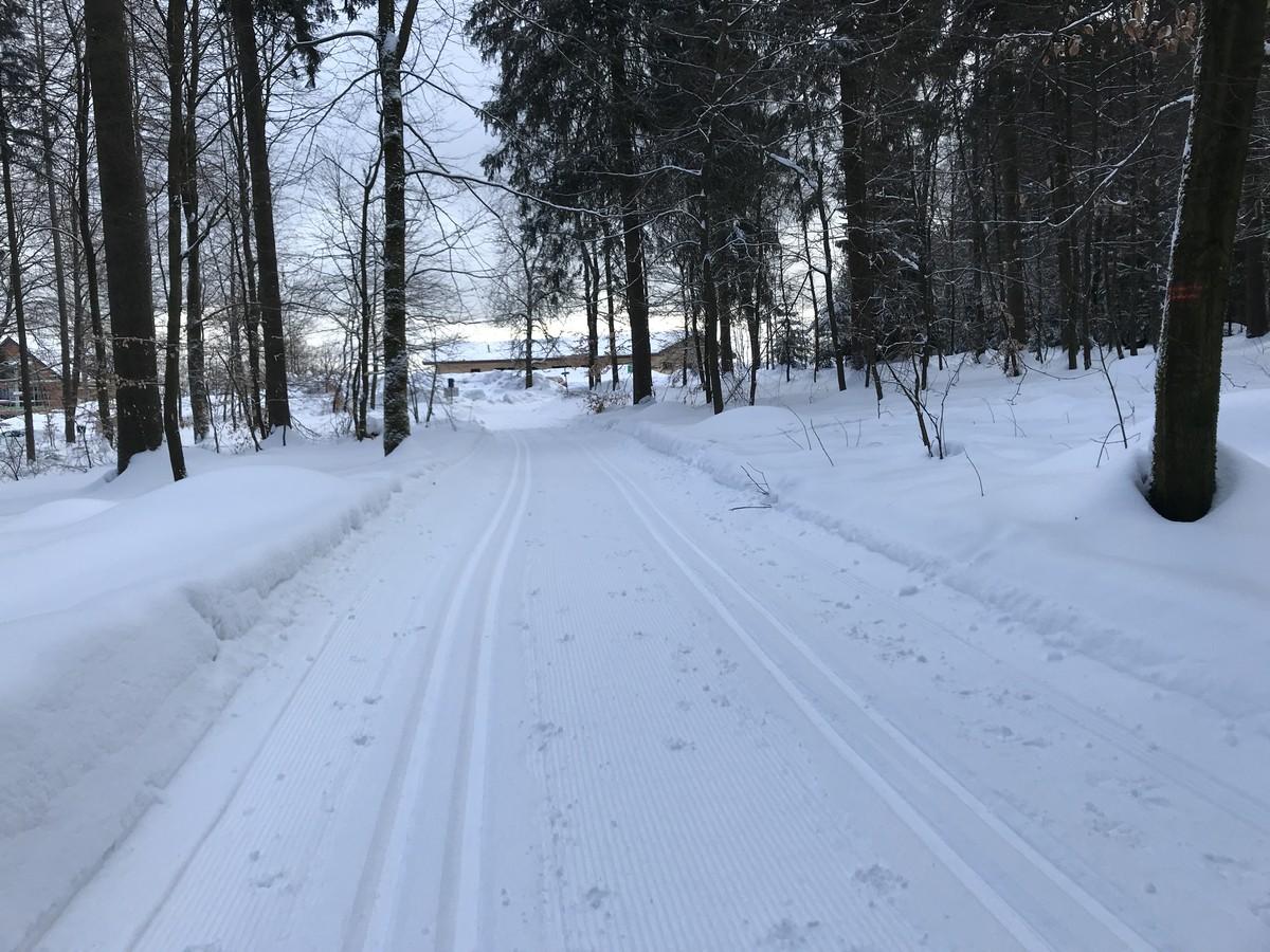 Anschlussloipe zum Hotel Forstmeister bei Schönheide