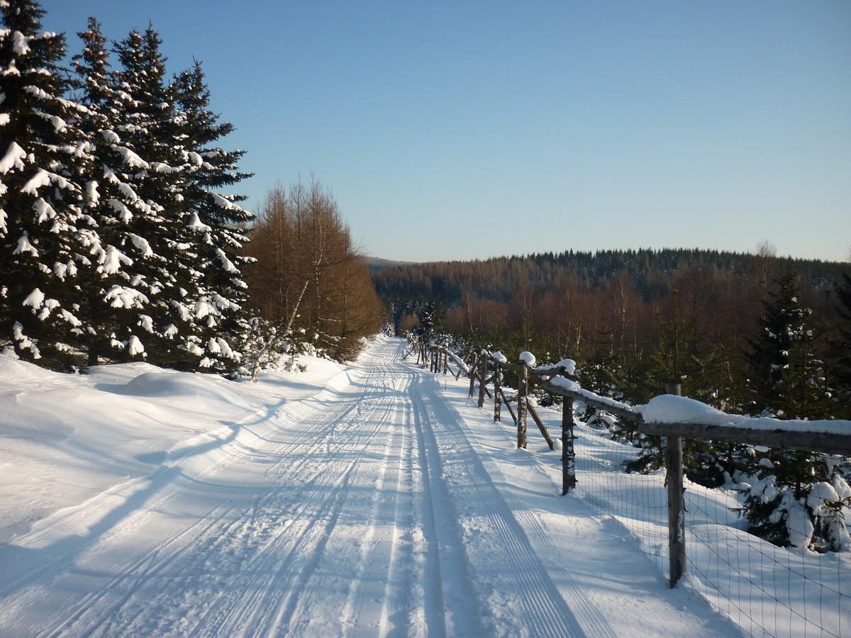 Skiwanderweg Brandov