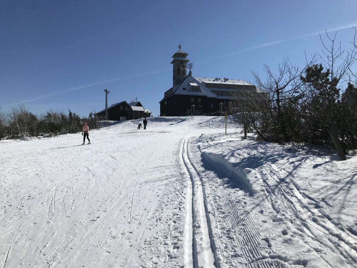 Höhenloipe am Fichtelberg