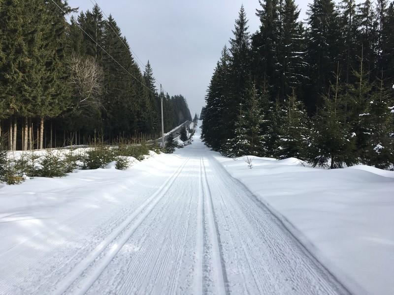 Böhmerwaldmagistrale auf dem Fahrradweg