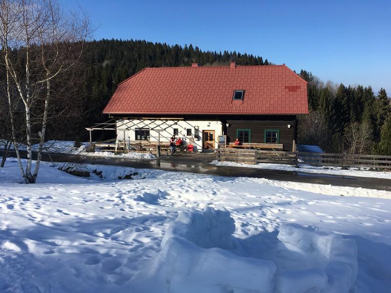Jausenstation in Sonnenwald