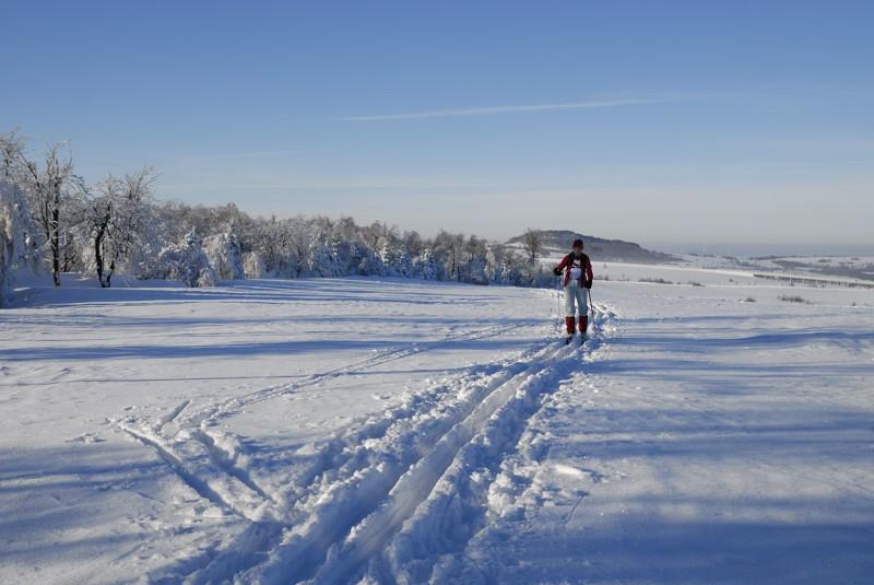 Hohe Tour 1,5km vor Panenska