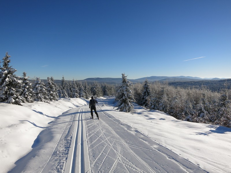 Blick Richtung Riesengebirge