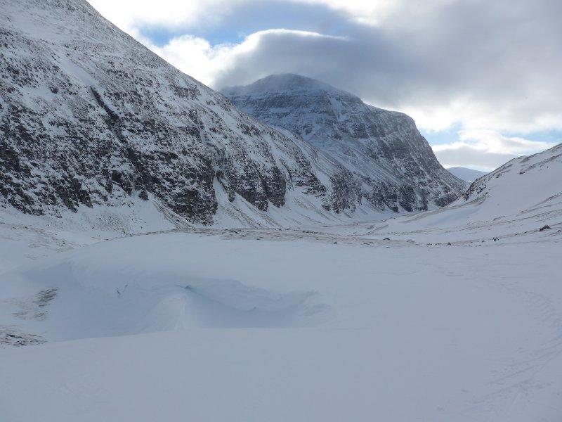 Nahe des höchsten Punktes der Skitour