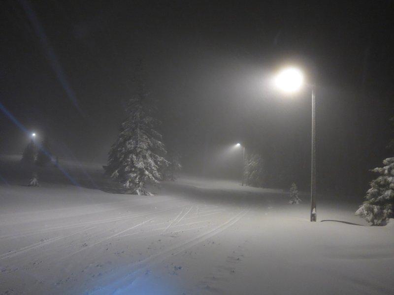 Nachtloipe bei Sjusjøen