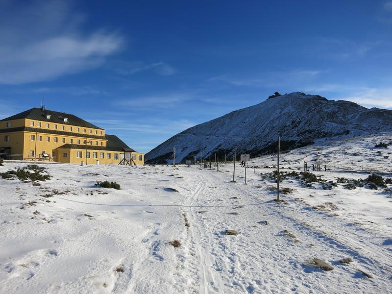 An der Slezská bouda