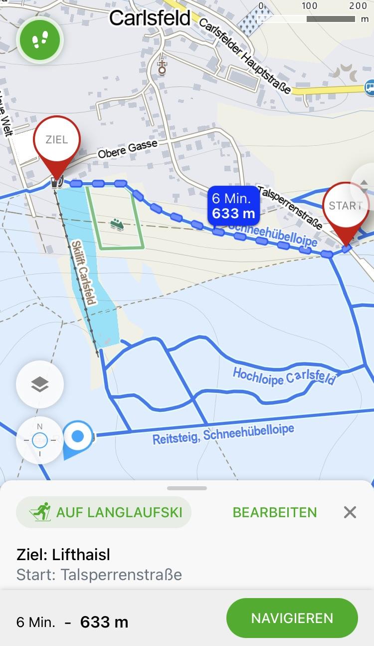 Screenshot Mapy.cz App